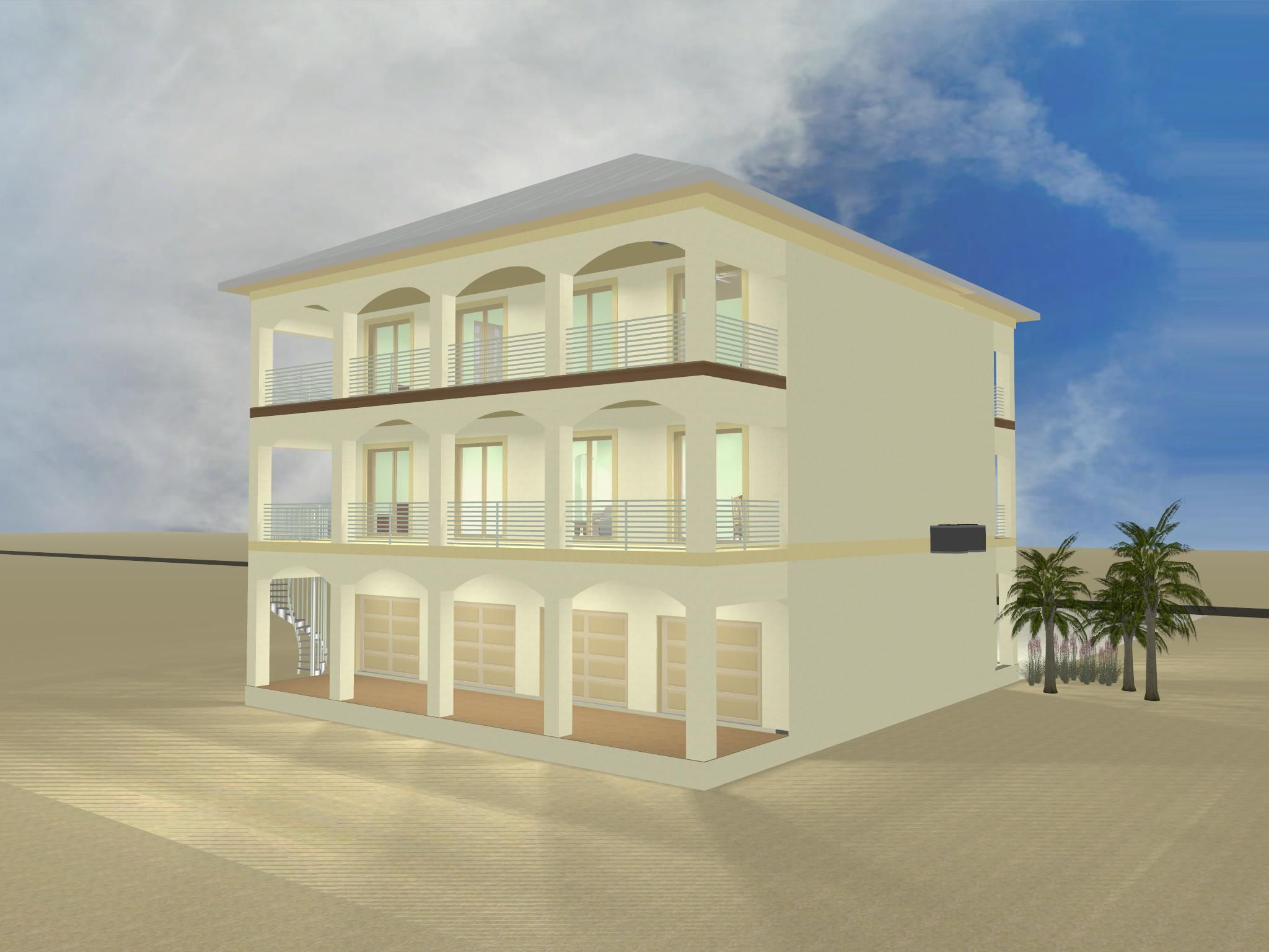 Acorn Construction - Sobieski-Agostin residence in Navarre Beach
